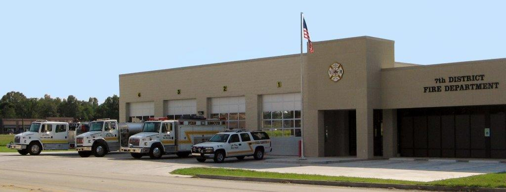 7th District Volunteer Fire Department Station 70 13337 N. Hwy 44 Gonzales, La 70737